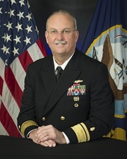 Link to biography of Rear Adm. Bruce L. Gillingham