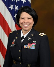 Link to biography of Col. Jenifer A. Meno
