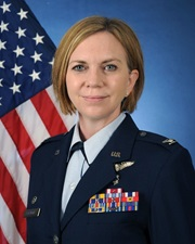 Link to biography of Col. Kara A. Gormont