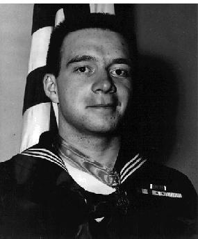 Hospital Corpsman Third Class William Charette portrait