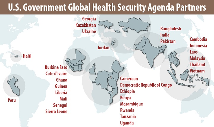 U.S. Government Global Health Security Agenda Partners