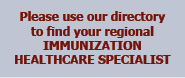 Immunization Healthcare Specialists