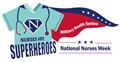 The Military Health System's 2019 National Nurses Week logo was developed to celebrate nurses as superheroes in a fun way.  The logo may be used in your materials and for your celebrations and activities.  To maintain brand integrity please use the provided logo without any alterations.