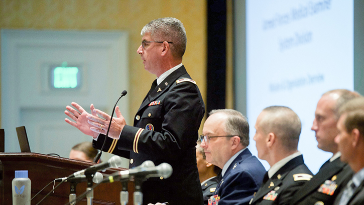 Links to Call for abstracts open for Military Health System Research Symposium