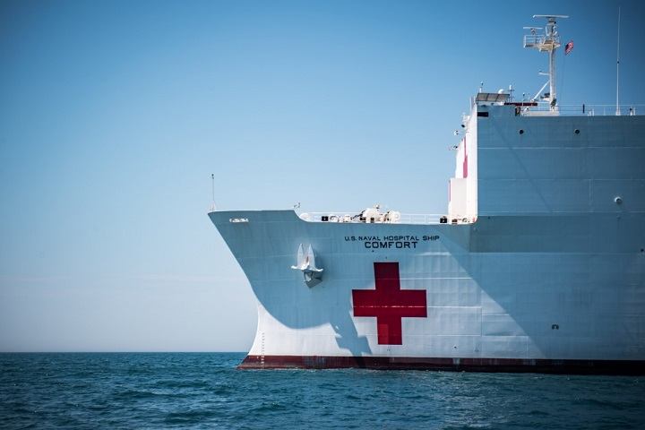 USNS Comfort to deploy to Central and South America | Health mil