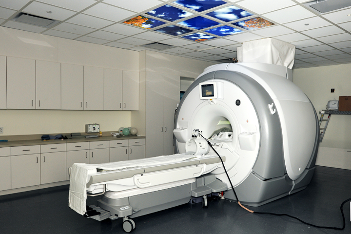 As well as providing high-resolution clinical imaging capabilities, the 3T Magnetic Resonance Imaging (MRI) scanner used at the NICoE provides researchers access to cutting-edge image acquisition methods, such as multiband diffusion tensor imaging (DTI) and echo planar imaging (EPI) sequences. (Photo courtesy of NICoE)
