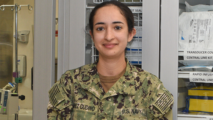 Links to Daughter of Mexican immigrants excels as Navy nurse