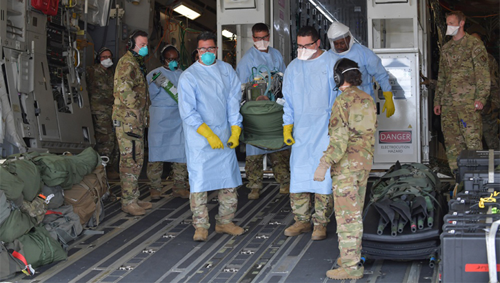 Links to Nurse and Tech Week: Air Force airmen are battle-tested and ready