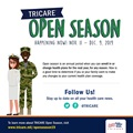 Instagram post with text about Open Season