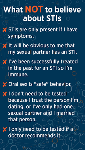 STI myths (MHS graphic)