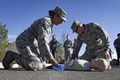Tactical Combat Casualty Care is a two-day course created by the Committee on Tactical Combat Casualty Care, and adopted by National Association of Emergency Medical Technicians. It teaches life-saving skills and methods proven effective in a combat environment. (U.S. Air Force photo by Airman 1st Class Andrew D. Sarver)