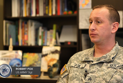 Image of Army Sgt. Robert Fox